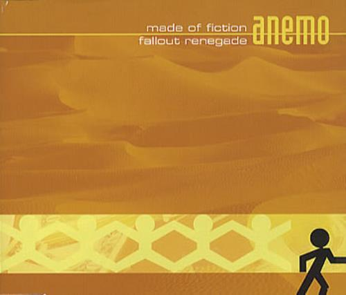 Anemo Made Of Fiction 2006 UK CD single ASSI008