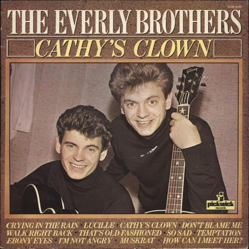 Everly Brothers - Cathy's Clown LP