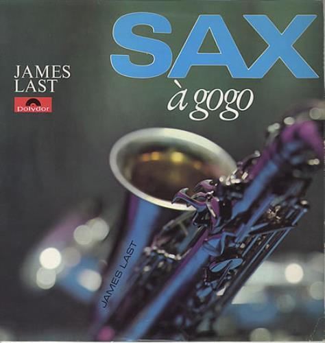 James Last Sax A Gogo 1967 UK vinyl LP 249121