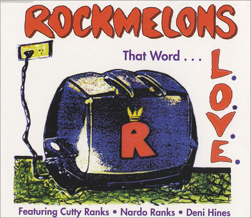 The Rockmelons That Word L.O.V.E 1993 UK CD single D11097