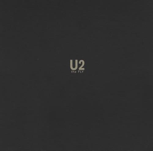 U2 The Fly 1991 French box set PROMO PACK