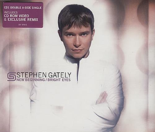 Stephen Gately New Beginning 2000 UK CD single 561819-2