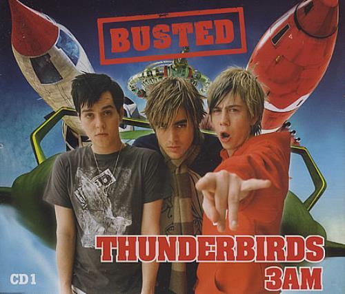 Busted Thunderbirds / 3am 2004 UK CD single MCSTD40375