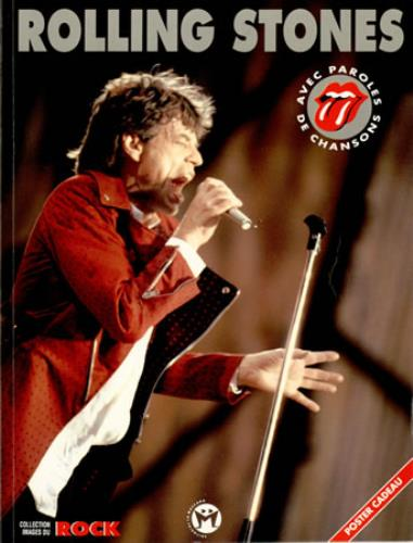 Rolling Stones Rolling Stones 1995 French book ISBN8479745061