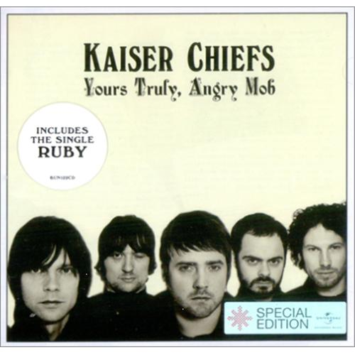 Kaiser Chiefs Yours Truly Angry Mob 2007 UK CD album BUN122CD