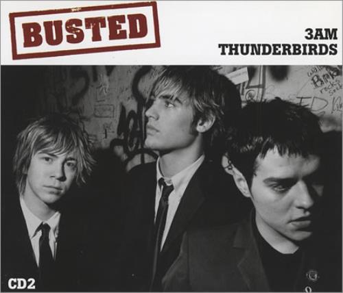 Busted 3am/Thunderbirds 2004 UK CD single MCSXD40275