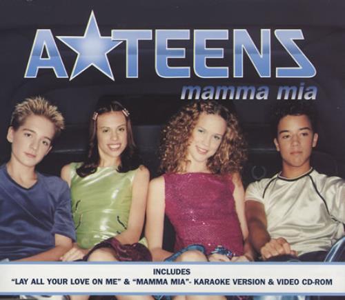 ATeens Mamma Mia 1999 UK CD single 5613432