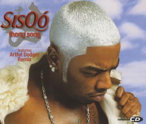 Sisqo Thong Song 2000 UK CD single 5688902