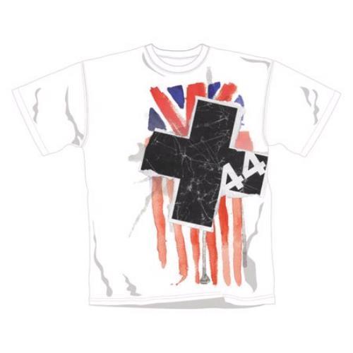 Image of +44 Watercolour 2 T Shirt XL 2007 UK t shirt TSWX2441