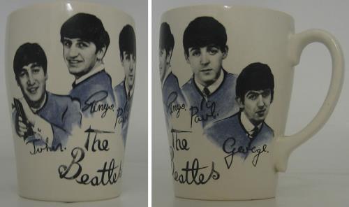 The Beatles Washington China Mug 1964 UK memorabilia CHINA MUG