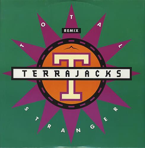 """Image of Terrajacks Total Stranger 1990 UK 12"""" vinyl PT43584"""