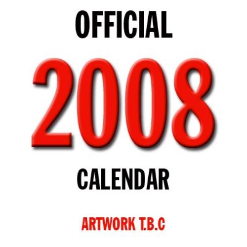 ACDC Official Calendar 2008 2008 UK calendar C10401