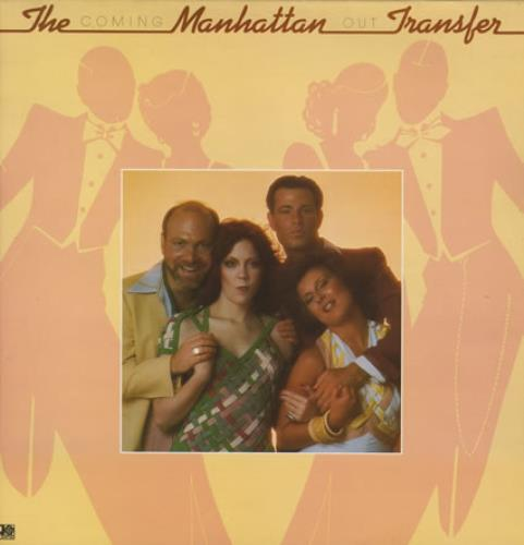 Image of The Manhattan Transfer Coming Out 1976 UK vinyl LP K50291
