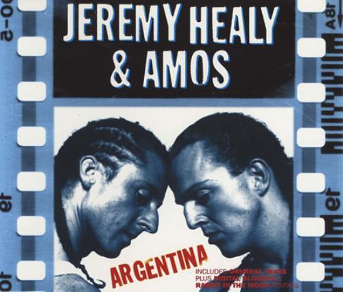 Jeremy Healy Argentina 1997 UK CD single CDTIV74