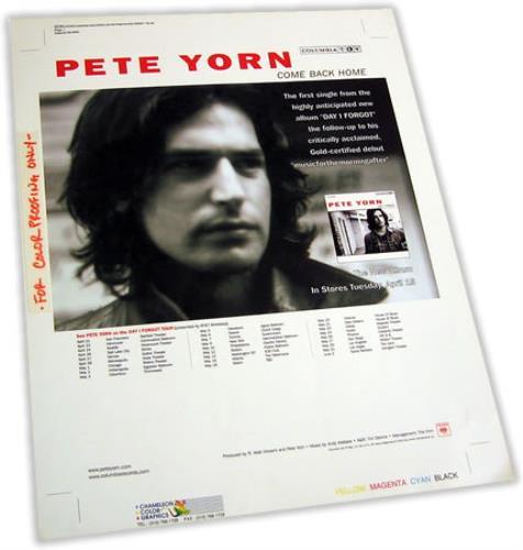 Pete Yorn Come Back Home 2003 USA artwork ARTWORK