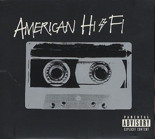 American HiFi American HiFi 2001 USA CD album 3145428712