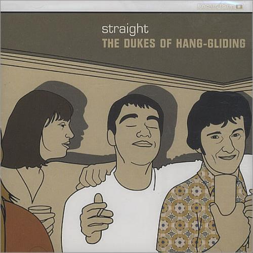 The Dukes Of HangGliding Straight 2000 UK CD single SNOWS010CD