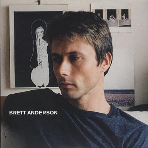 Brett Anderson Brett Anderson 2007 UK CD album CDR ACETATE