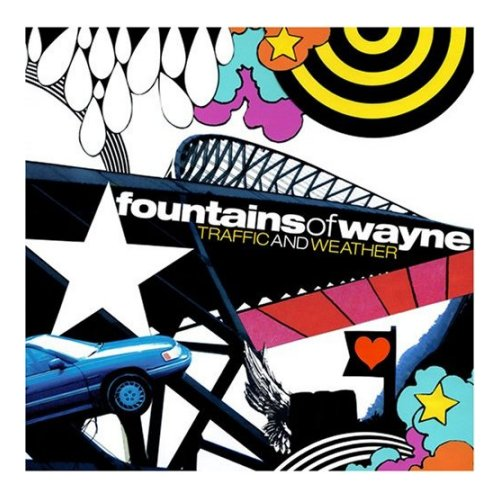 Fountains Of Wayne Traffic And Weather 2007 UK CD album 3744202