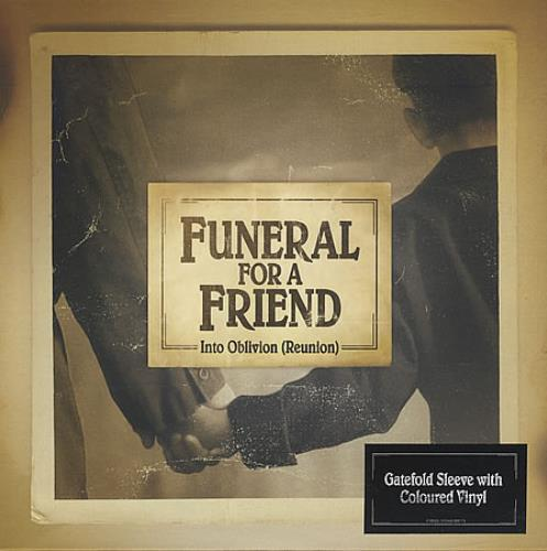 Funeral For A Friend Into Oblivion (Reunion) 2007 UK 7 vinyl ATUK058