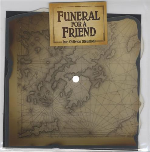 Funeral For A Friend Into Oblivion (Reunion) 2007 UK shaped picture disc ATUK058X