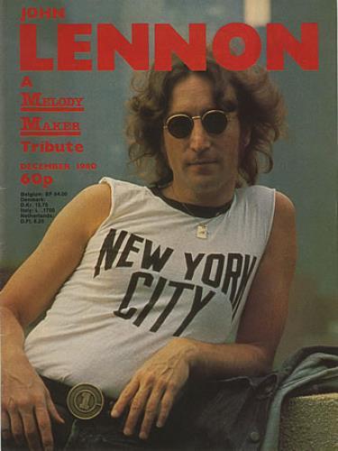 John Lennon A Melody Maker Tribute 1980 UK magazine MELODY MAKER SPECIAL