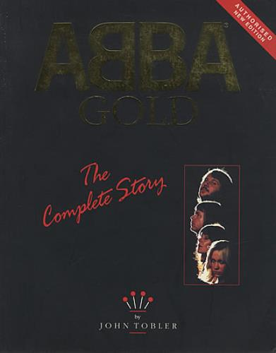 Abba Gold  The Complete Story 1994 UK book 0907938094
