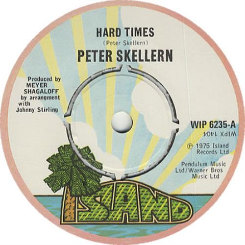 Skellern, Peter - Hard Times Record