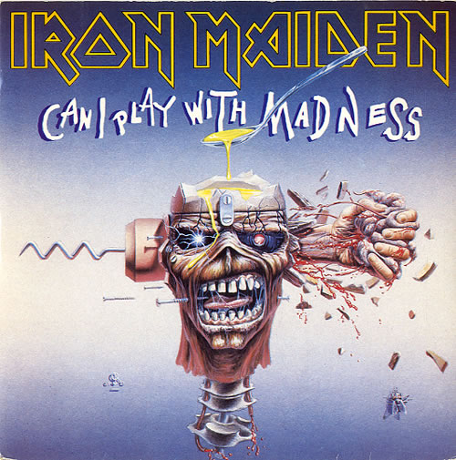 Iron Maiden - Can I Play With Madness - P/s
