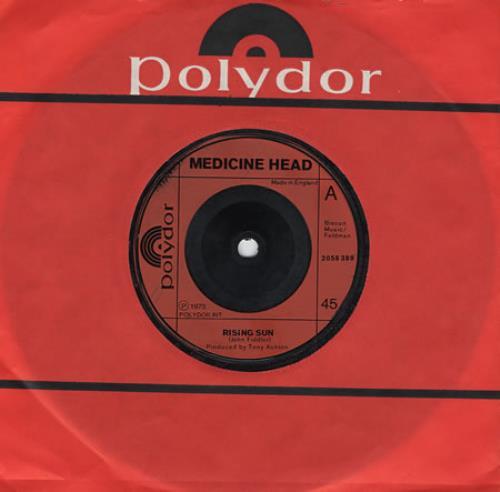 Medicine Head Rising Sun 1973 UK 7\