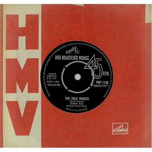 The Folk Singer - Roe, Tommy