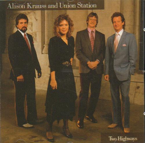 Image of Alison Krauss Two Highways 1995 UK CD album ROUCD0265