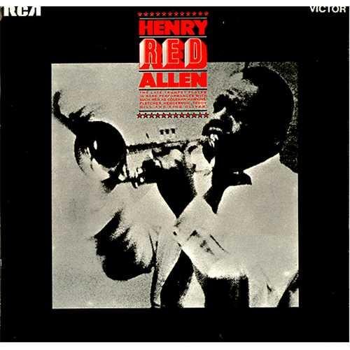 Image of Henry 'Red' Allen Henry 'Red' Allen 1969 UK vinyl LP RD8049