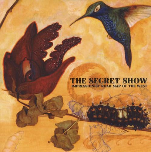 The Secret Show Impressionist Road Map Of The West 2006 UK CD album SAM01190