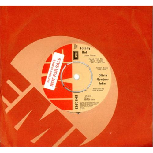 Olivia Newton John Totally Hot - Factory Sample 1978 UK 7\