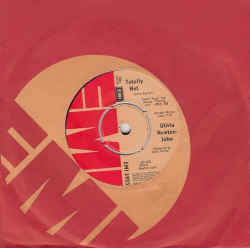Olivia Newton John Totally Hot 1978 UK 7\