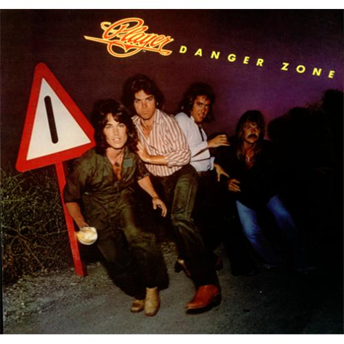 Player Danger Zone 1978 UK vinyl LP RSS3