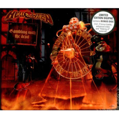 Helloween Gambling With The Devil 2007 German 2CD album set SPV981202CD