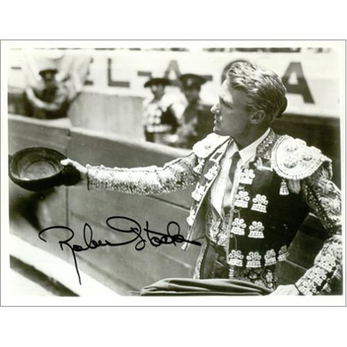 Image of Robert Stack Autographed Publicity Photograph UK photograph AUTOGRAPHED PHOTOGRAPH