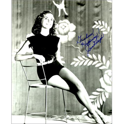 Image of Janet Leigh Autographed Publicity Photograph UK photograph AUTOGRAPED PHOTOGRAPH