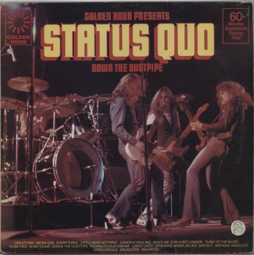Status Quo - Down The Dustpipe EP