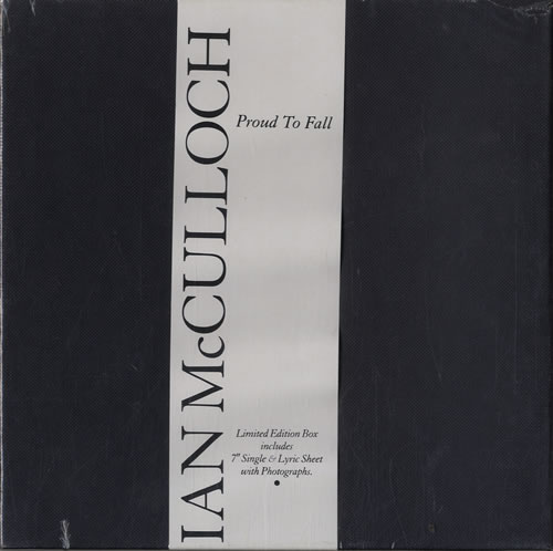 McCulloch, Ian - Proud To Fall + Box - Sealed