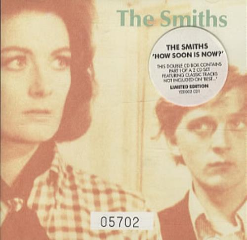 The Smiths How Soon Is Now  Stickered cases 1992 UK 2CD single set YZ0002CD1CD2