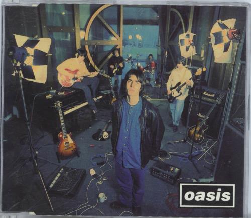 Oasis Supersonic 1994 UK CD single CRESCD176