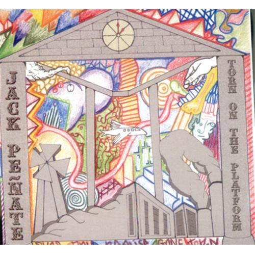Jack Penate Torn On The Platform 2007 UK CDR acetate CDR ACETATE