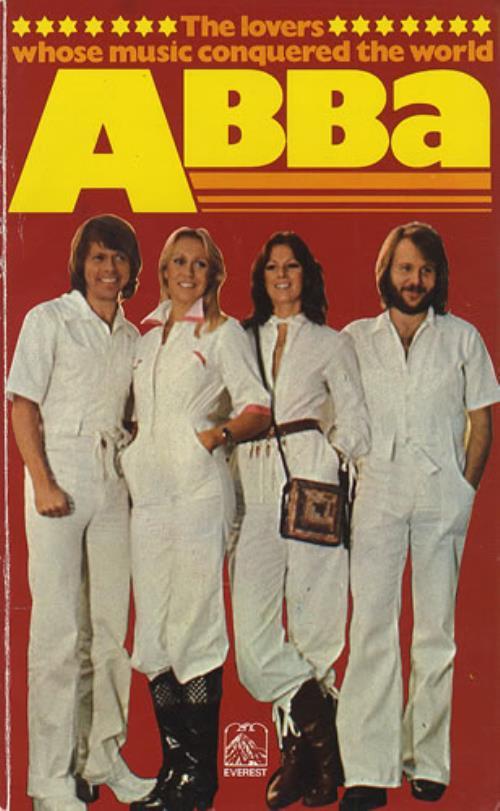 Abba Abba  1st 1977 UK book 0905018745