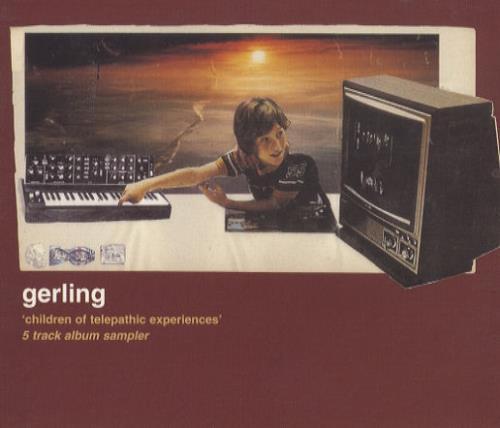 Gerling Children Of Telepathic Experiences  5 Track Album Sampler 2000 UK CD single INFECT84CDP