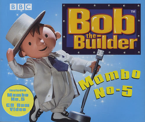 Bob The Builder Mambo No.5 2001 UK CD single WMSS6044-2
