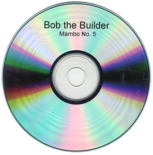 Bob The Builder Mambo No.5 2001 UK CD-R acetate CD-R ACETATE