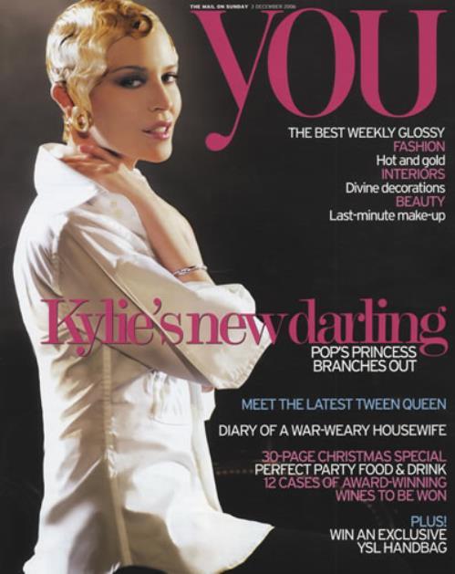 Kylie Minogue You 2006 UK magazine DECEMBER 2006